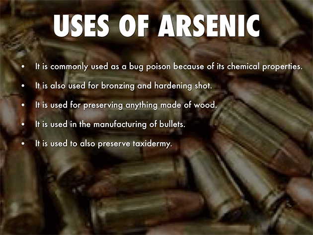 how to get rid of arsenic in well water