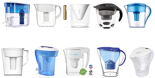best-water-water-filter-pitcher-reviews-of-the-year - types of water filters