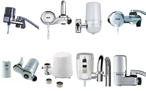 best-faucet-water-filter-reviews-2017-new - types of water filters