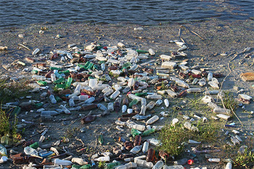 bottles-polluting-beach