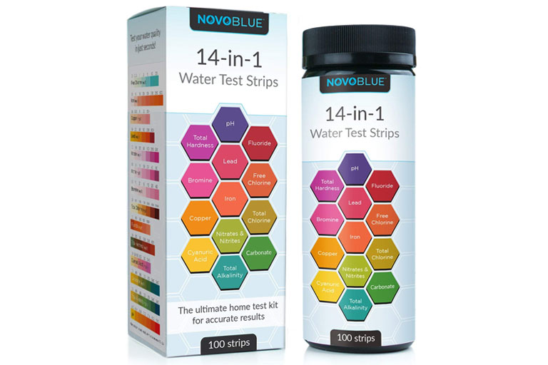 NovoBlue 14-in-1 Test Strips